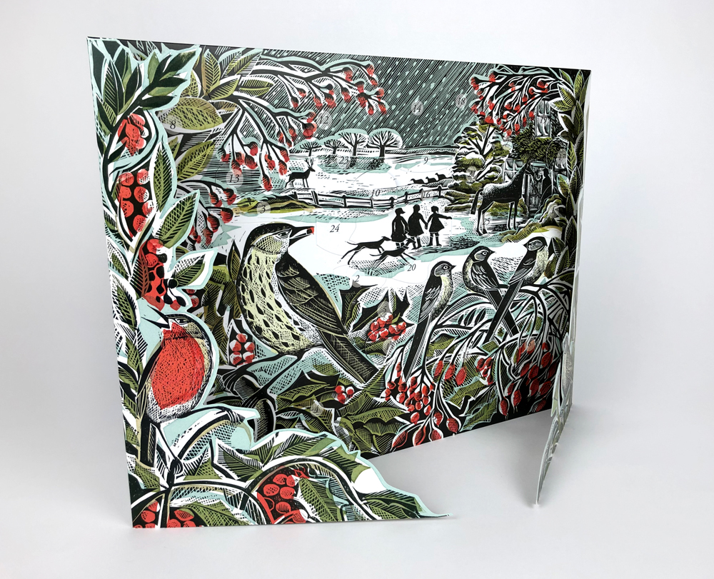 Holly Hedge Advent Calendar