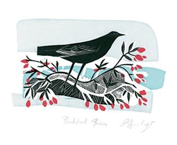 Blackbird and Berries