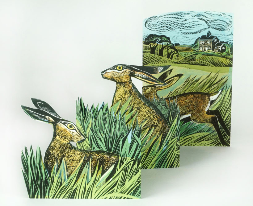 Hares and Open Field