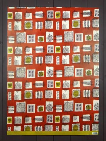 GIFTWRAP - Fall, furnishing textile, 1951