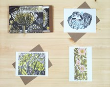 12 boxed postcards & envelopes