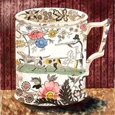 Victorian Crockery 'The Shoot'