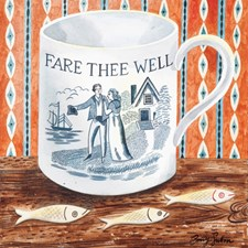 Victorian Crockery 'Fare Thee Well'