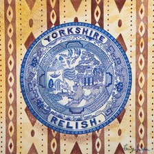 Victorian Crockery 'Yorkshire Relish'