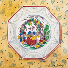 Victorian Crockery 'The Flower Girl'
