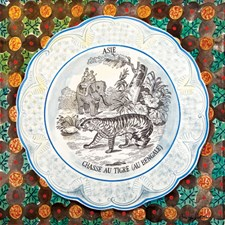 Victorian Crockery 'Chasse au Tigre'