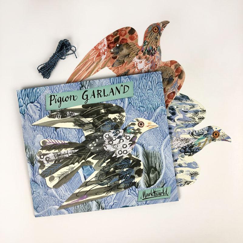 Pigeon Garland