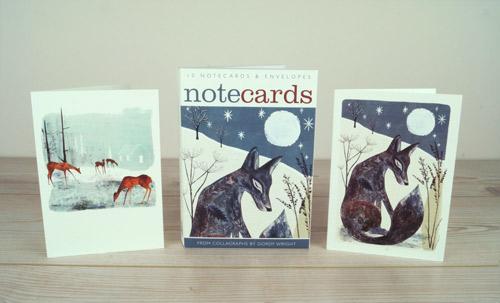 Midnight Fox / Woodland Clearing