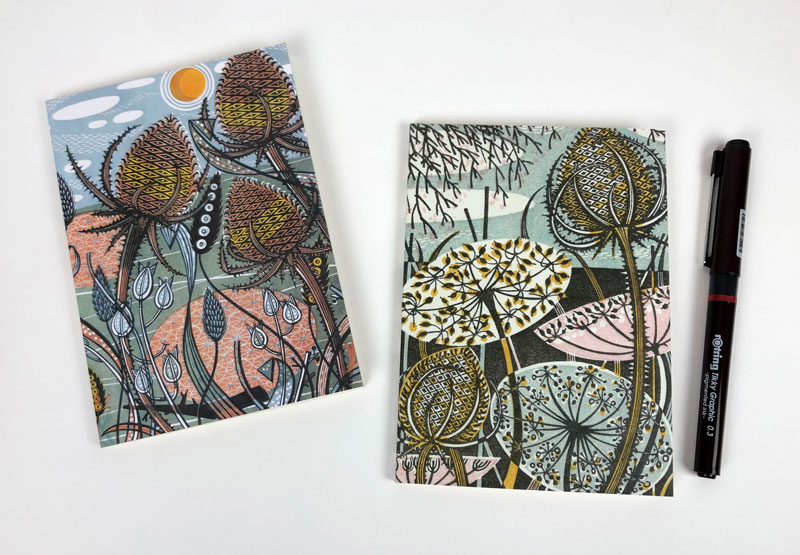 Details from 'Teasel' & 'Autumn Teasels'