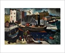 Renwick Coals, Ship and Fishermen