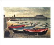 Boats on Cromer Beach