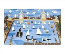 Sailing Boats and Bridge