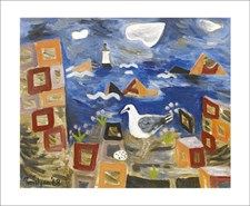 Seagull and Lighthouse, 1968