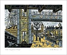 Under Hungerford Bridge
